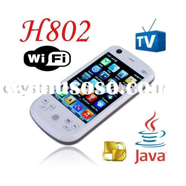 wholesale unlocked quad band tv mobile phone with wifi function H802
