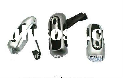 wind up 3 led hand crank dynamo torch flashlight