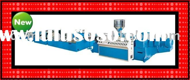 wood-plastic foamed plate extrusion line