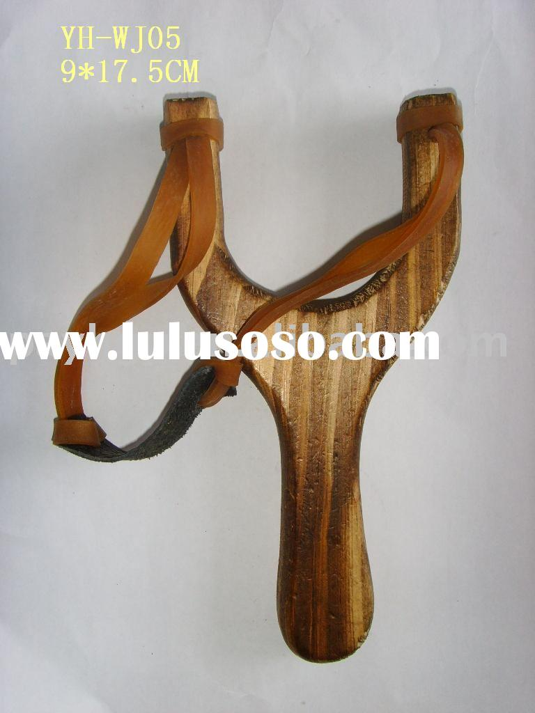 wooden child toys/wooden slingshot/wood crafts/catapult toy/house decoration/educational toy/crafts