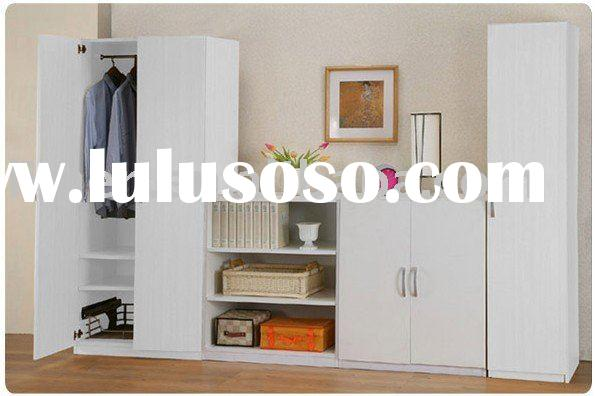 wooden wardrobe bedroom furniture set,simple furniture,cabinet,shelf,home furniture