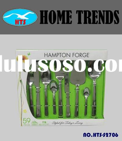 0492 45 Pieces Stainless Steel Flatware set