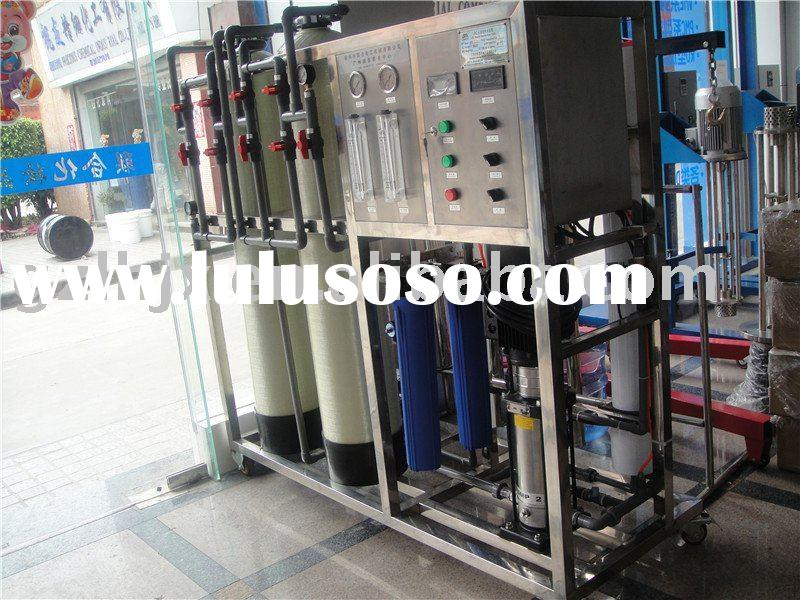 0.5-3.0T/H Cosmetic making machine Automatic LRO Reverse Osmosis Water treatment System equipment