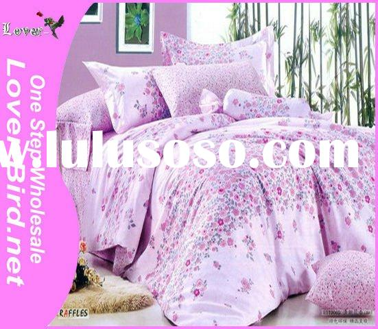 100% Cotton Colorful Flower Bedding Set, bed sheet cover, pillow cover,4pcs sheet, comforter,printed