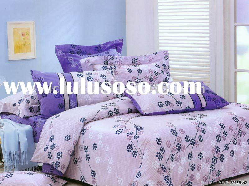 100% Cotton Wholesale Bedding Sets/Printed Sheet Set /Twill Size Bed Set