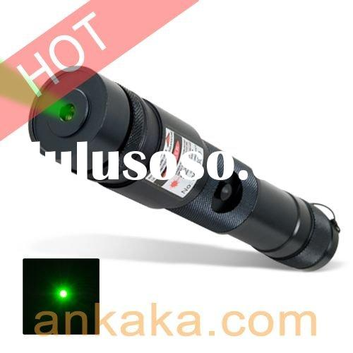 100mW Green Laser Pointer - All Metal Combat Edition