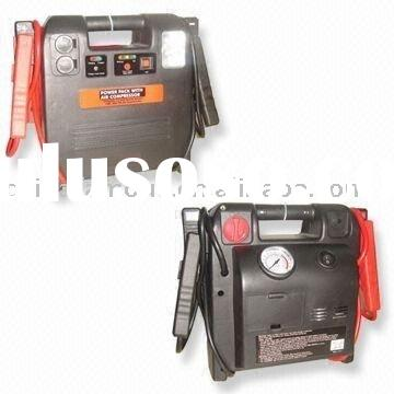 12V/18AH Rechargeable Jump Starter with Air Compressor
