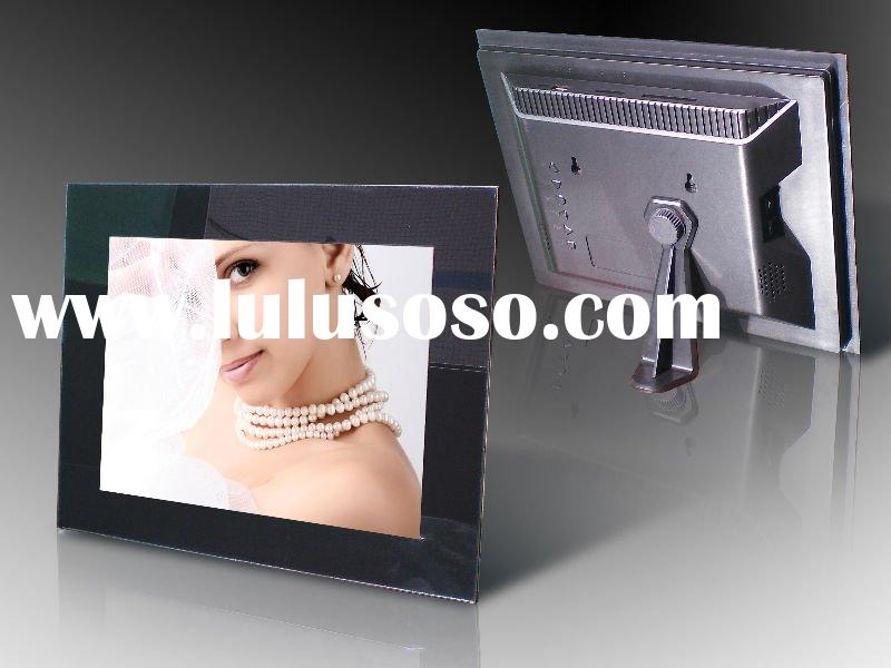 12.1 inch LCD MP3 MPEG4 800x600 Resolution AVI Calendar Clock Multi-language Digital Photo Frame
