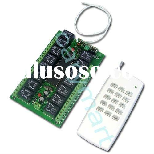 15 CH DC 9V/12V/24V Universal Remote Control Switch Wireless Transmitter Receiver Toggle / Momentary