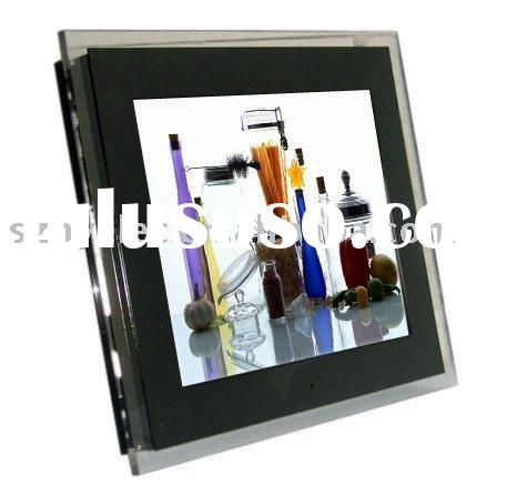 15 inch digital photo frame built rechargeable battery
