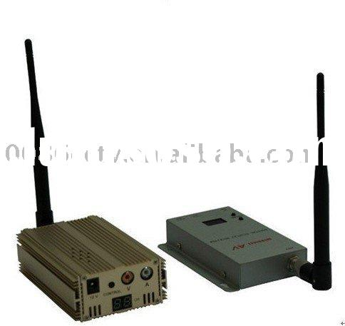 1.2GHz Portable wireless video transmitter receiver AV CCTV Transceiver