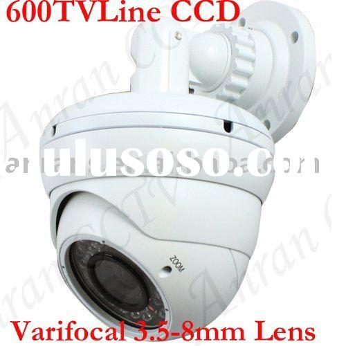 "1/3"" Sony CCD 600TVL IR Varifocal lens 3.5-8mm Outdoor Security Camera"