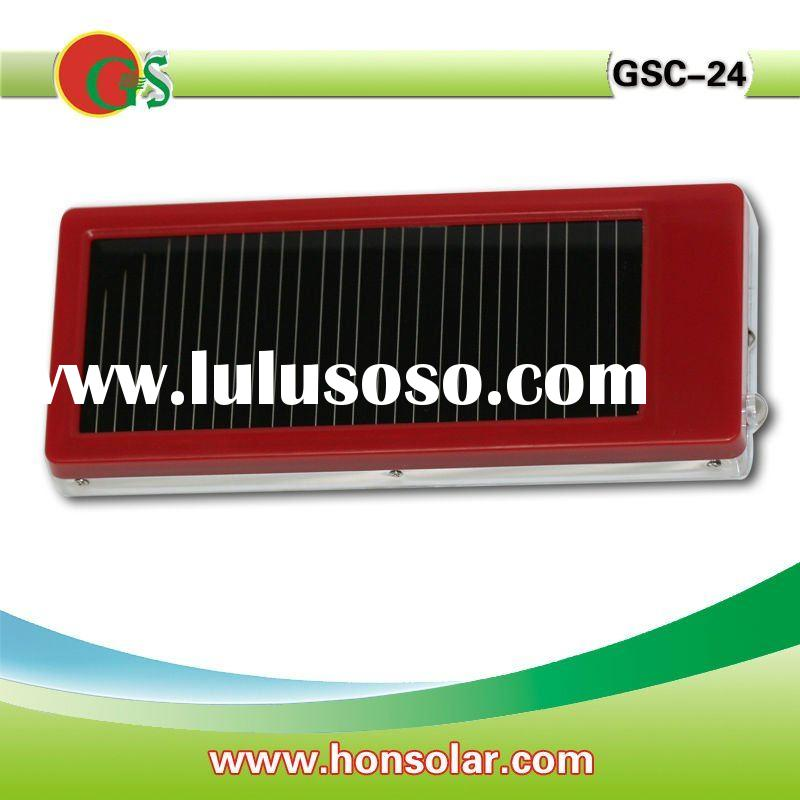 2000mah solar battery charger charge for iphone, blackberry, etc, LED torch function