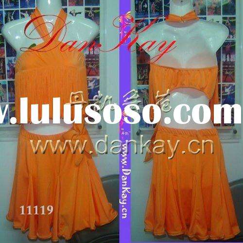 2011 Ballroom/Rumba/Salsa/Latin Dance Dress, Ladies' Dancewears, Dancing Costumes (11097)