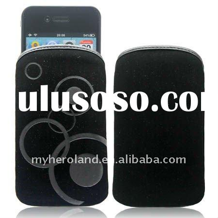 2011 Best Selling For iPhone 4G/ 3G/ 3GS Carry Bag Pouch Case