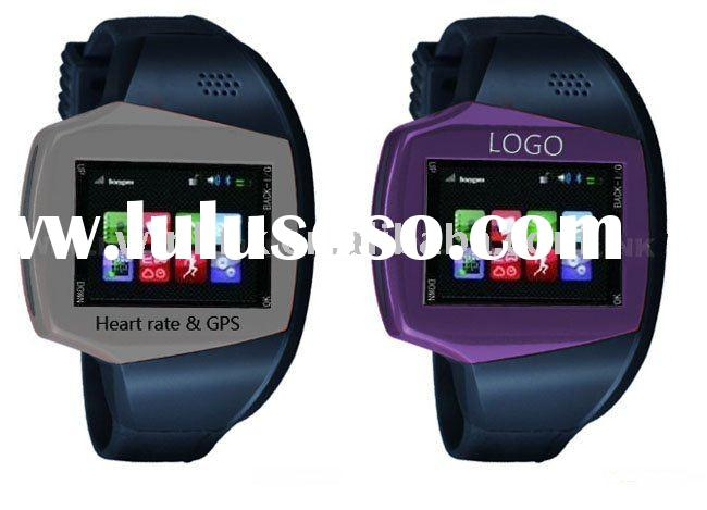2011 New Multifunction Sports Watch, Mobile Phone Heart Rate Watch, GPS Tracker