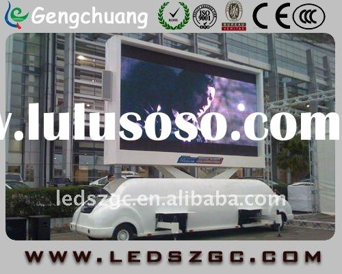 2011 New desgin outdoor full color mobile led display for sale