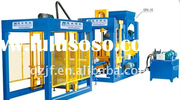 2011 New design block/brick making machine