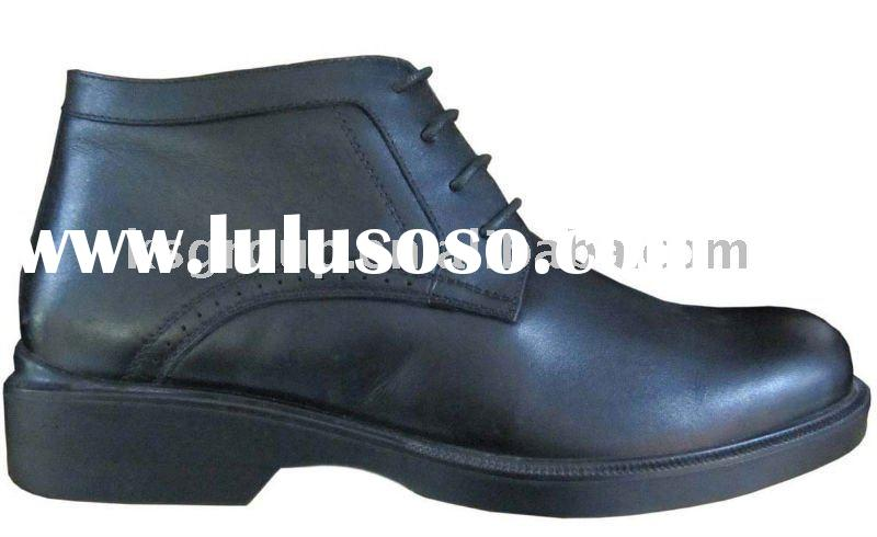 2011 Newest Men's winter leather boots