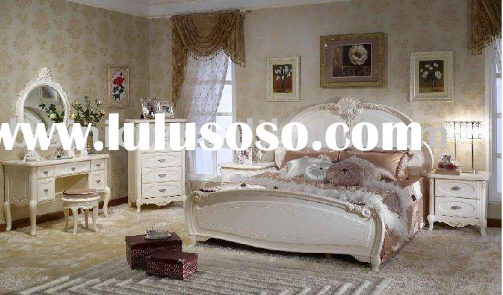 2011 hot sale antique French country style sleeping room furniture set B49162