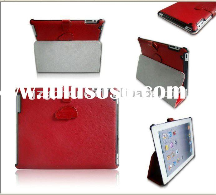 2011 new design Leather case for Ipad 2
