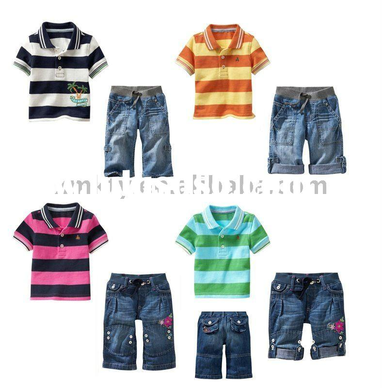 2011 new fashion kids clothing sets