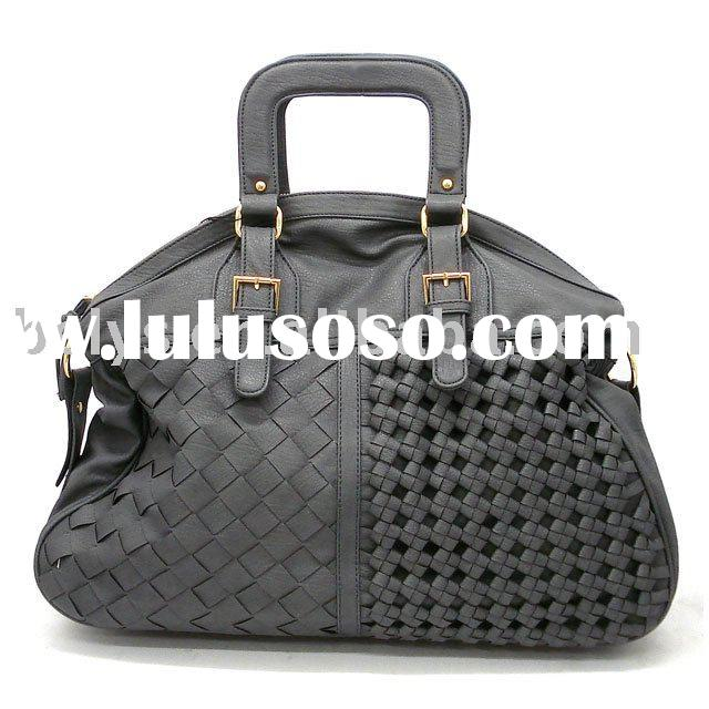 2011 wholesale popular brand ladies' fashion handbag