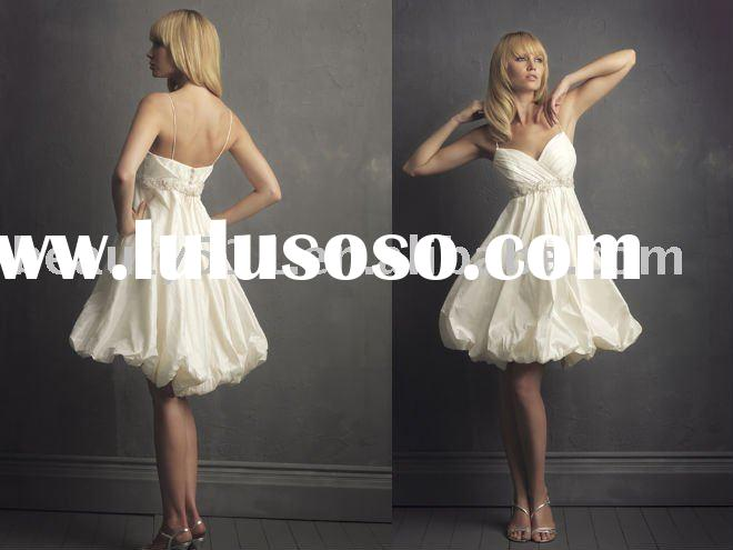 2011new style lovely short and sassy wedding dresses prom gown prom gressesYP0061
