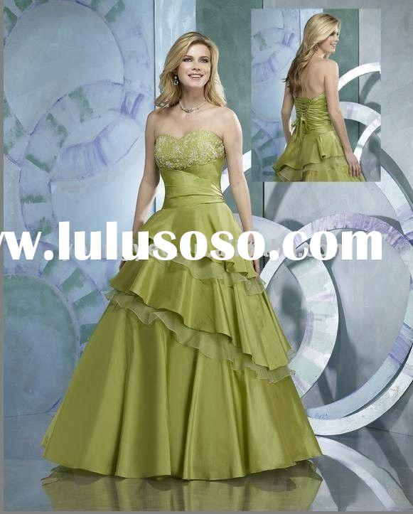2012 Latest designer ball gown formal evening dress and prom dresses 2012