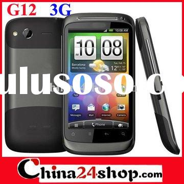 2012 Mobile Cell Phone G12 3G WiFi Dual SIM Android Phone