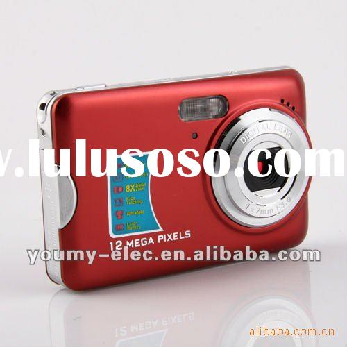 2012 NEW 2.7 inch 12.0 MP cheap digital camera digital zoom 8X Anti shake In Original Box