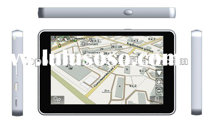 2012 New arrival aluminium case car navigation gps