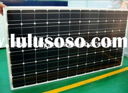 2012 hottest mono-crystalline solar panel 250W certified TUV UL IEC MCS,CE mono solar panels for hom
