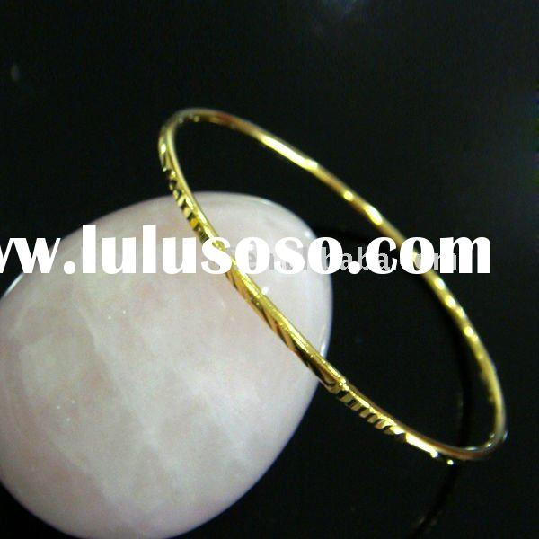 2012 latest design fadeless 24K gold plated jewelry
