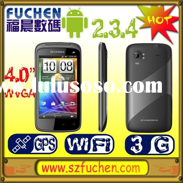 "2012 latest smartphone dual sim with Android 2.3.4,MTK6573, 3.75G WCDMA/GSM, 4.0"" WVGA Caps.LCD"