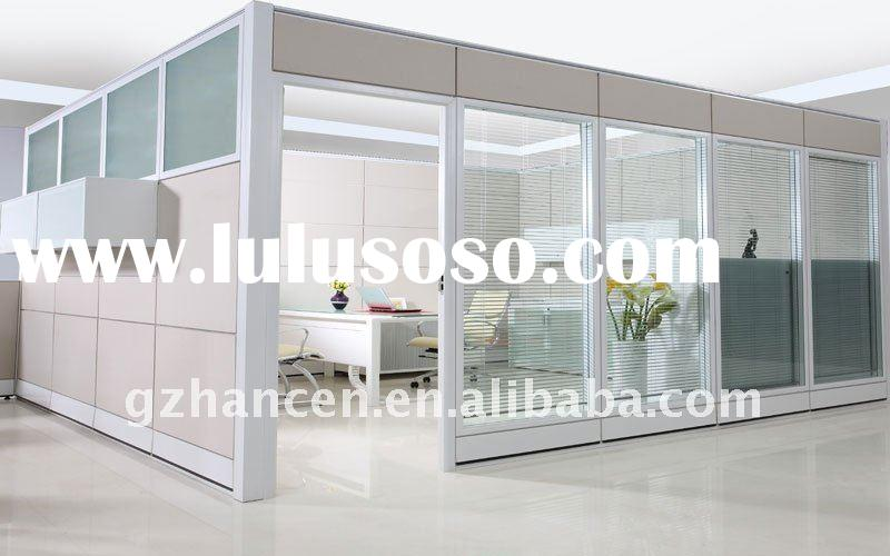 athens double glass office partition wall | LuLuSoSo.com