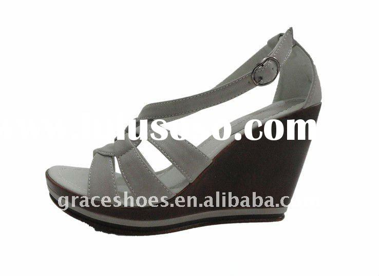 2012 new style woman high heel sandal shoes