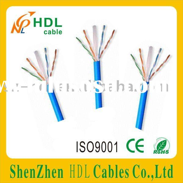 24AWG UTP Cat6 Lan Cable with 4 Twist-pair