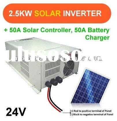 2500w 24V 50A Pure Sine Wave inverter SOLAR power inverter charger