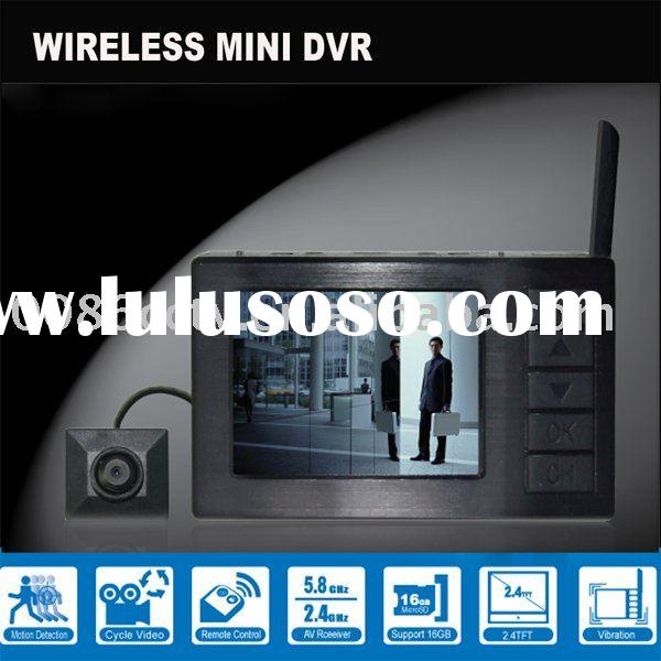 2.4GHz Wireless Camera,wireless DVR ,wireless receiver