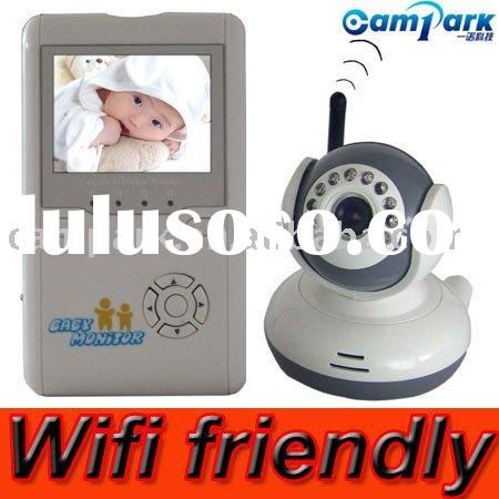 2.5 inch TFT LCD WiFi-friendly Baby Monitor