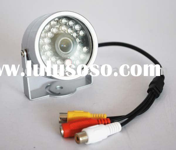 30LED IR Color CCTV CMOS Surveillance Audio Video Camera