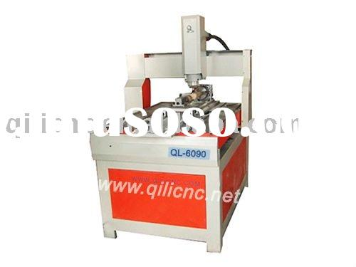 3D CNC Metal Engraving Machine With Rotary