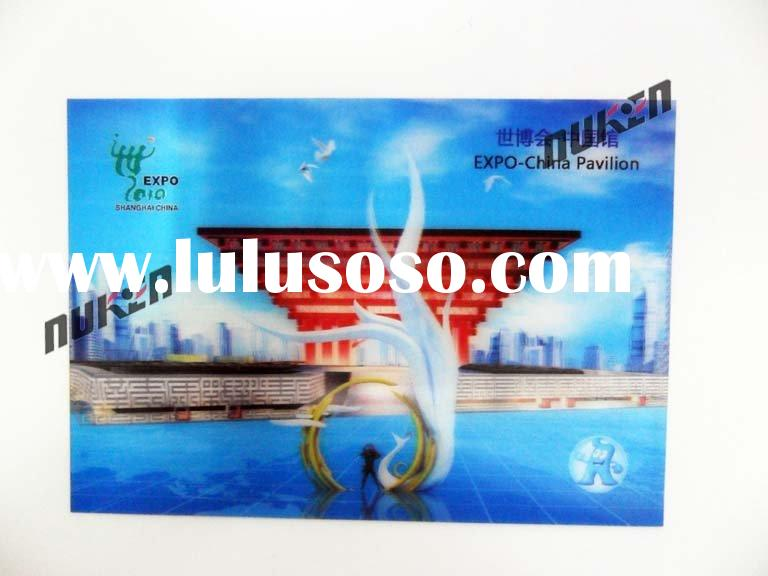3D lenticular postcard Design and printing