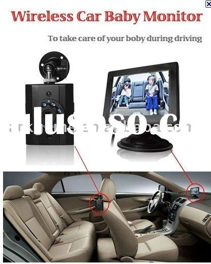 "3.5""LCD Wireless Car Baby Monitor Camera"