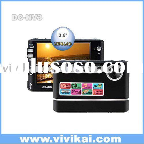 3.6 inch TFT LCD VIVIKAI digital camera +MP3 SUPPORT OF ALL