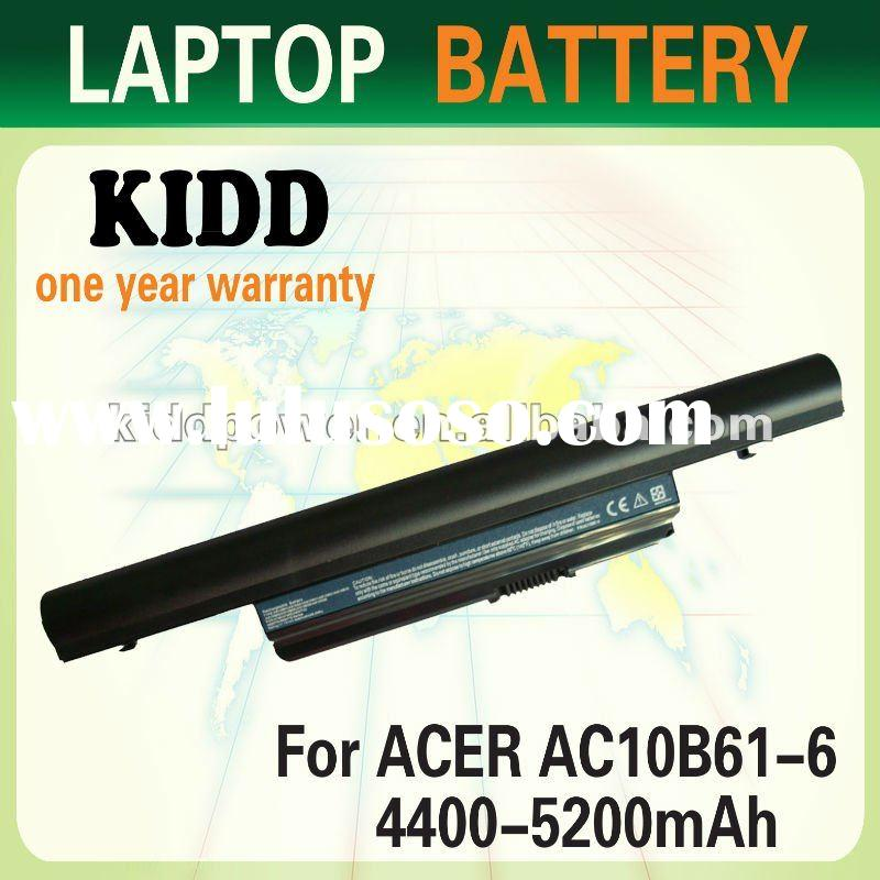 4400/5200mAh Laptop battery for ACER AS10B61 laptop battery series