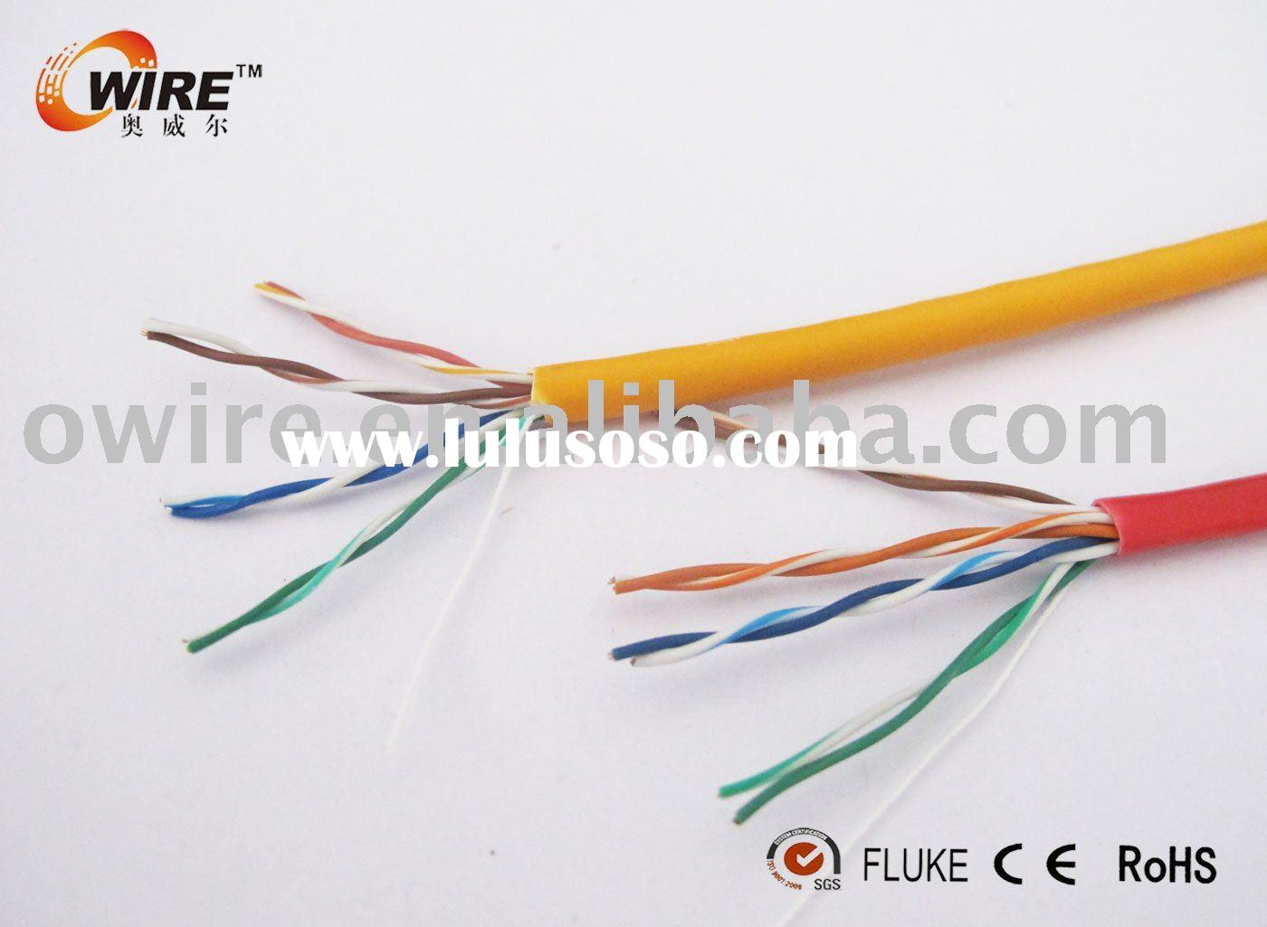 4*2*0.5mm UTP CCA cat5e cable /Lan Cable 305m