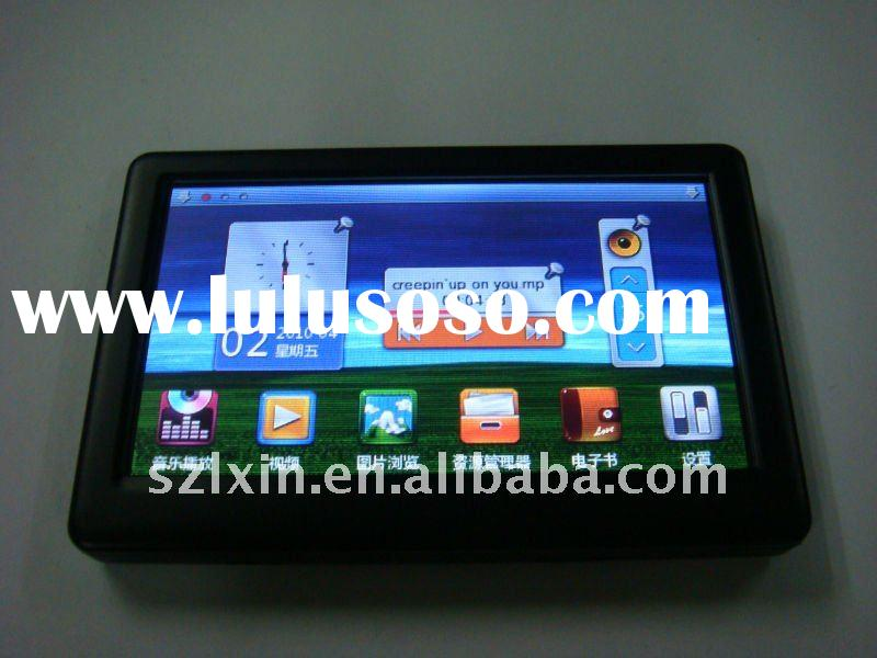"""4.3"""" Touch screen mp4 player with FM,Game,E-book"""