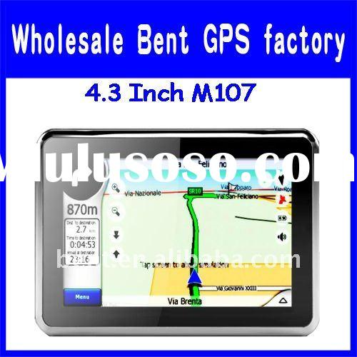 4.3 inch portable gps navigator with Bluetooth AVIN ISDBT hot selling